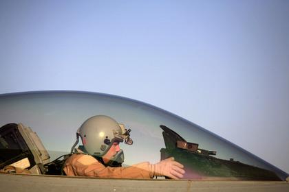 Израиль потерял истребитель F-16 из-за ошибки пилотов