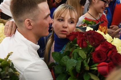 Анна Нечаевская с возлюбленным