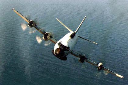 Американский самолет-разведчик заметили у российских границ на Черном море