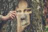 Если приложить к дереву глаза Моны Лизы, его «улыбка» получится почти такой же загадочной, как у оригинала. «Думаю, да Винчи бы понравилось, — отмечает Катерина Хмыльнина из Швеции, сделавшая это фото.— Он же так уважал природу. Именно в ней многие художники черпают вдохновение».