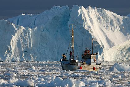 На Северном полюсе установилась аномальная жара