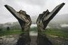 Памятник революции в Мославине напоминает о борьбе местного населения за независимость в ходе Второй мировой войны. Фотография была сделана во время путешествия в мае 2017 года по территории бывшей Югославии.
