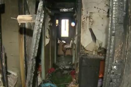 Красноярский подросток спас семью из огня
