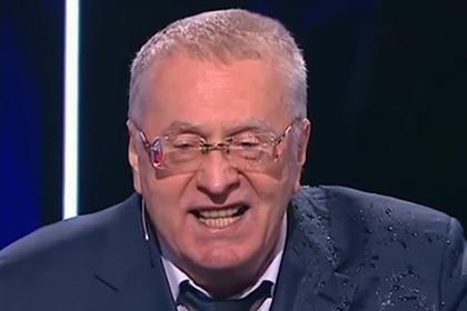 Облитый водой Жириновский разошелся на мемы
