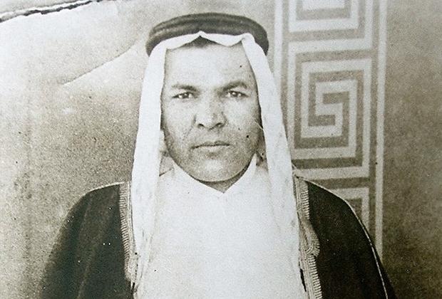 Карим Хакимов в арабской одежде