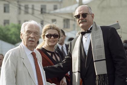 Сергей и Никита Михалковы