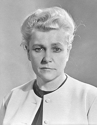 Министр культуры СССР Екатерина Фурцева, 1967 год