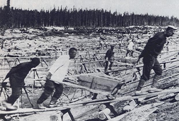 Строительство Беломоро-Балтийского канала
