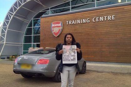 Мать игрока «Арсенала» Эйнсли Мэйтленд-Найлса живет вконтейнере— The Mirror