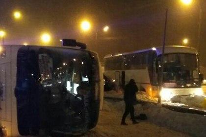 ВДТП с 2-мя автобусами натрассе «Дон» погибли два человека