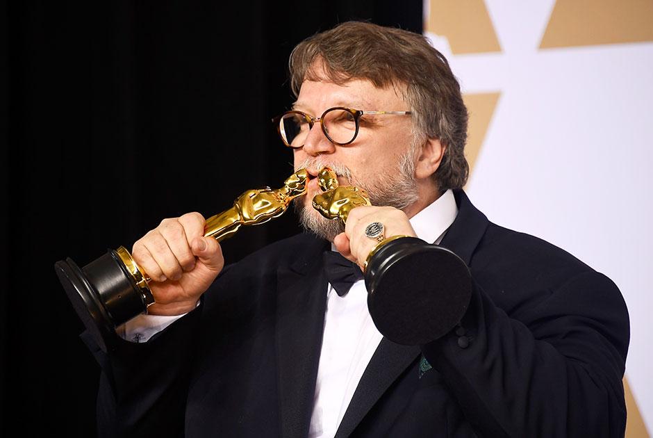 Режиссер Гильермо дель Торо, получивший два «Оскара» за «Форму воды»