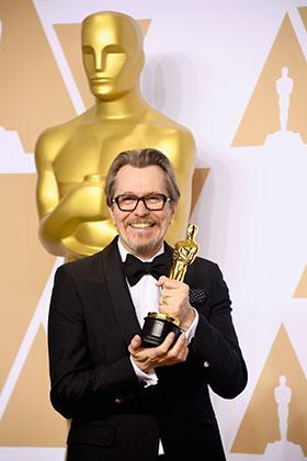 Гэри Олдман — «Оскар» за лучшую мужскую роль