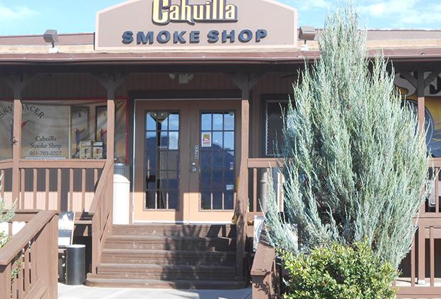 Магазин беспошлинной продажи сигарет в резервации