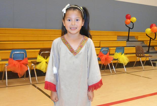 Эскимосская девочка