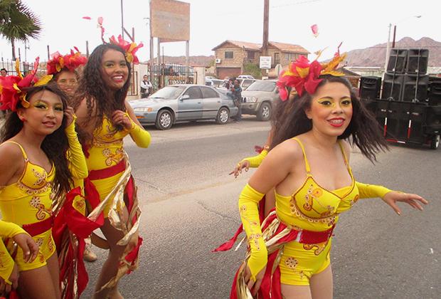 Карнавал в индейской резервации