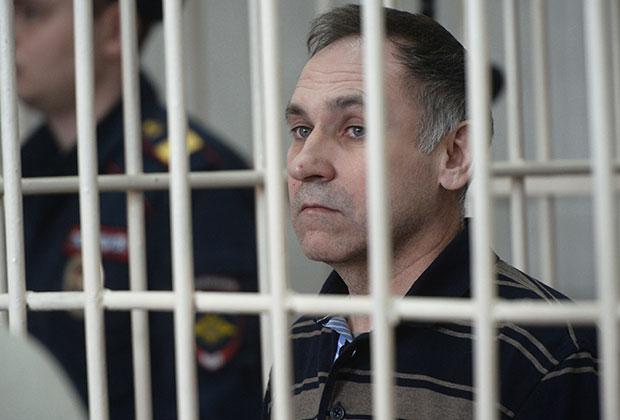 Евгений Чуплинский на суде
