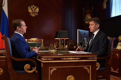 Дмитрий Медведев и Александр Плутник