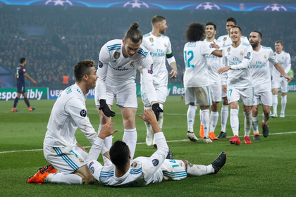 Игроки мадридского «Реала»