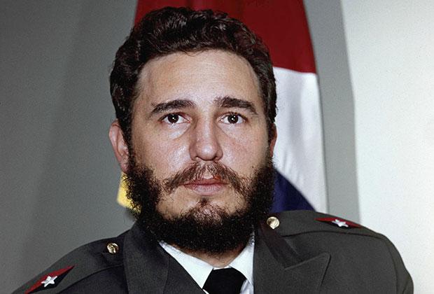 Фидель Кастро в 1959 году