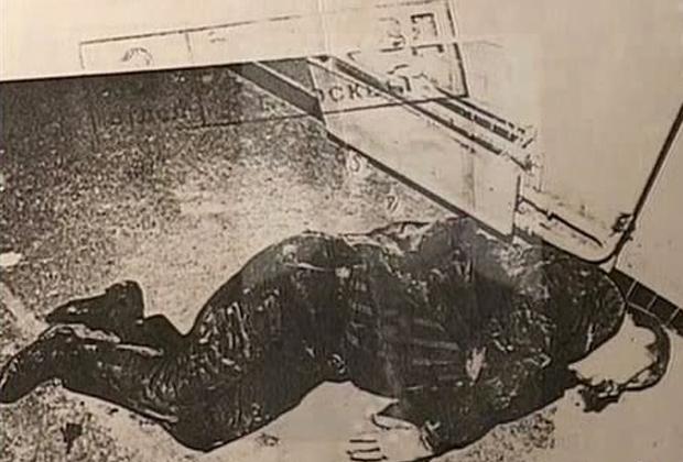 Убитый Юрий Васильев