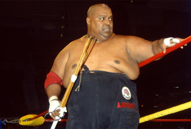 Голый мужской реслинг на ринге #4