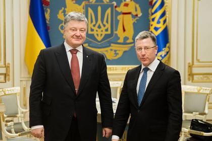 Петр Порошенко и Курт Волкер