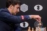 Шахматист Сергей Карякин на турнире претендентов в Москве