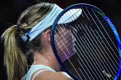 Теннисистка Мария Шарапова прекратила сотрудничество сголландским тренером Груневелдом