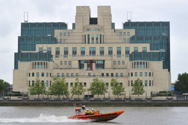 Штаб-квартира МИ-6 в Лондоне