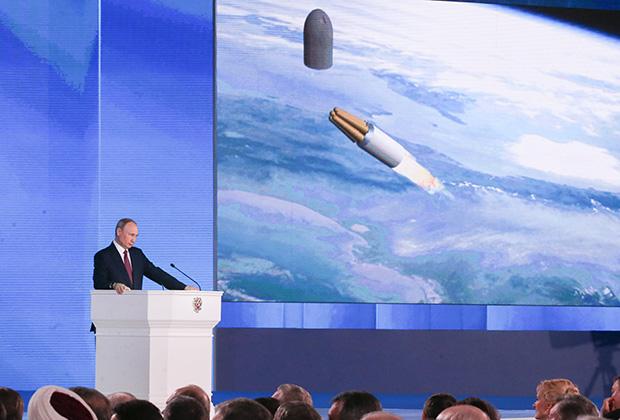 Решение о применении Россией ядерного оружия может быть принято лишь как ответный удар, подчеркивал Путин