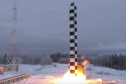 Испытания ракетного комплекса «Сармат»