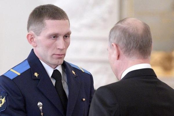 Денис Портнягин и Владимир Путин