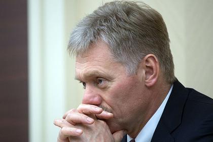 «Несущий пургу» Песков ответил на критику Путина