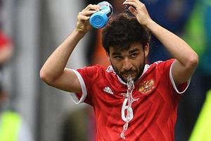 Георгий Джикия в составе сборной России