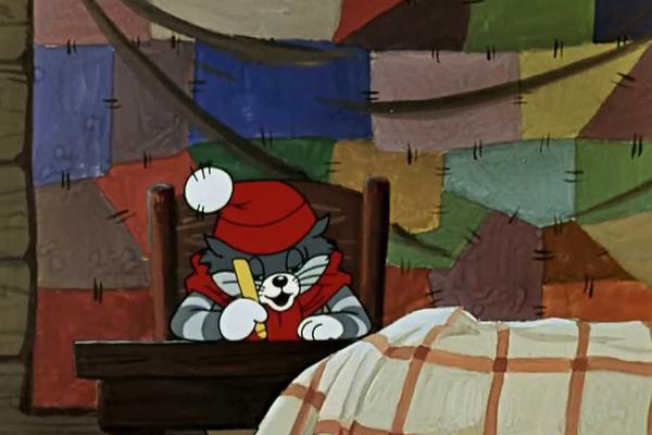 Кадр из мультфильма «Простоквашино»