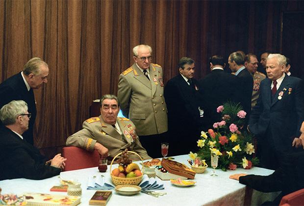 В комнате отдыха Политбюро ЦК КПСС