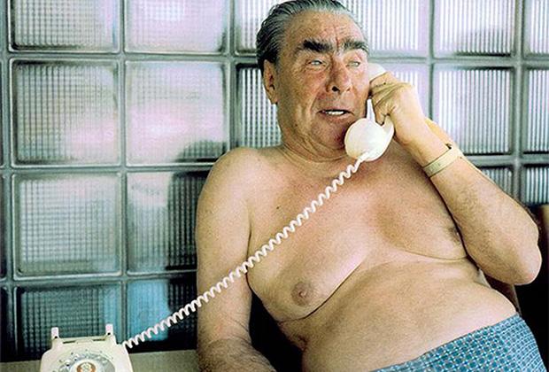 Леонид Брежнев на отдыхе