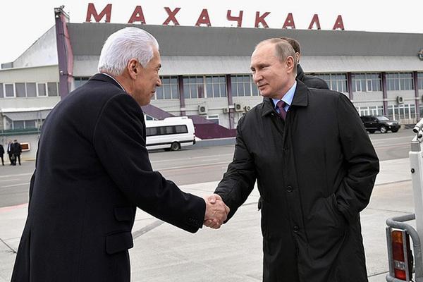 Владимир Васильев и Владимир Путин