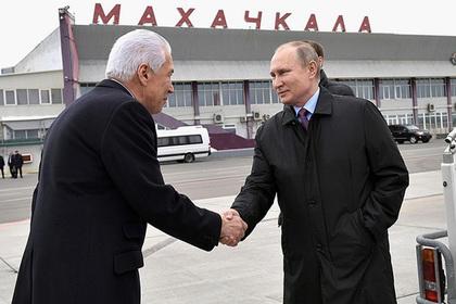 Путин назвал коррупцию бедой Дагестана и всей страны