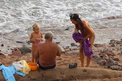 Туристка из России родила на пляже в Египте