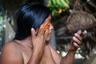 Ачоте — название тропического растения бикса аннатовая Bíxa orellána, пришедшее из языка ацтеков. Это самый распространенный краситель в Амазонии: раньше им только делали рисунки на теле и окрашивали пальмовые волокна, а сейчас это широко используемый пищевой краситель, который экспортируется в разные страны мира.
