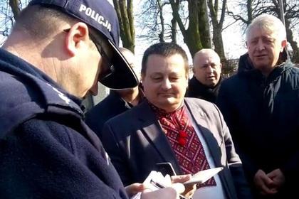 Поляки сдали полиции прокричавшего «Слава Украине!» чиновника