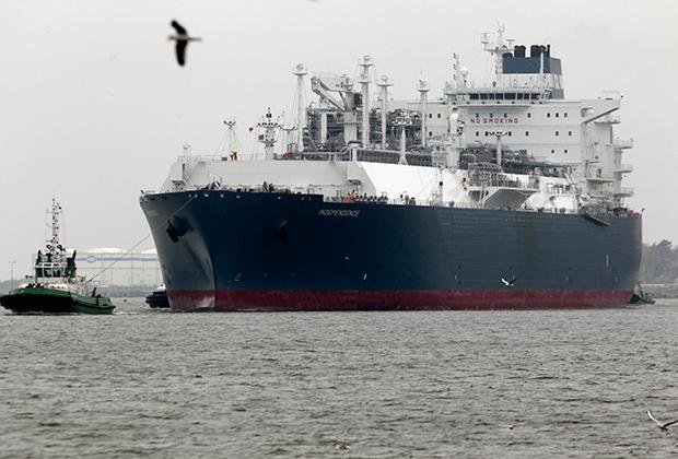 Independence в Клайпедском порту 27 октября 2014 года