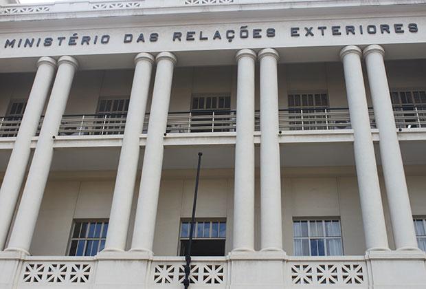 Здание МИД в Луанде, столице Анголы
