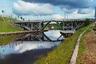 Река Вытегра (Вологодская область) является частью Волго-Балтийского водного пути. Длина реки — 64 километра, впадает в Онежское озеро. Подъемный мост был построен в 1894 году при реконструкции Мариинской водной системы. Сохранялся до начала 1960-х годов.
