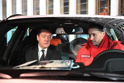 Дмитрий Медведев и Илья Ковальчук