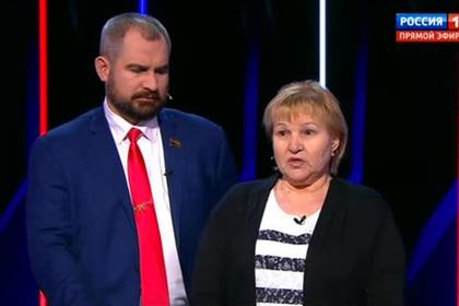 Кандидат в президенты с воплем «мразь!» бросился на Шевченко во время дебатов
