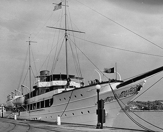 Яхта Ramfis, принадлежавшая диктатору
