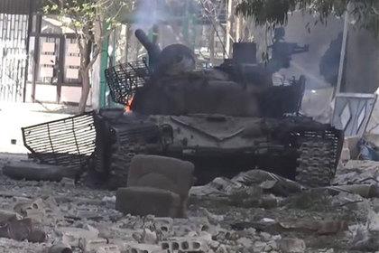 Сирийские военные лишились редчайшего «итальянского» танка