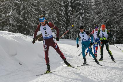 Шипулин упустил серебро эстафеты на Кубке мира